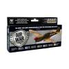 Vallejo US Army Air Corps Mediterranean Theater Op.festék szett Vallejo 71183