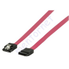Valueline PC adatkábel S-ATA I. 50cm VLCP73050R05 fém zárral - piros
