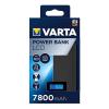 """Varta Hordozható akkumulátor VARTA """"LCD Powerbank"""" 7800mAh"""