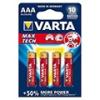 Varta Max Tech alkáli AAA ceruza elem - (4 db)