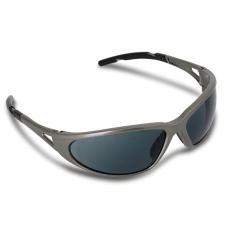 Védőszemüveg, sötétített, fényvédő lencsével,
