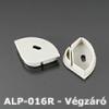 Véglezáró ALP-016S alumínium LED profilhoz