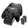 VENOM VS2851 Xbox One fekete töltőállomás + 2 db akkumulátor (VS2851)