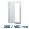 VENTS ellenőrző ablak, műanyag, fehér (250/400 mm)