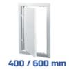 VENTS ellenőrző ablak, műanyag, fehér (400/600 mm)