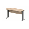 Vénusz irodabútor AVA fémlábas íróasztalok EK-180/62-AVA Egy oldalon kerekített íróasztal AVA fémlábbal 180X 62 cm-es méretben