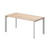 Vénusz TREND fémlábas asztalok IS-160/80-TR Sarkos íróasztal, Trend fémlábbal 160 x 80 cm-es kivitelben
