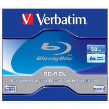 Verbatim BD-R BluRay lemez, kétrétegű, 50GB, 6x, normál tok, VERBATIM írható és újraírható média