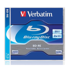 Verbatim BD-RE BluRay lemez, újraírható, 25GB, 1-2x, normál tok, VERBATIM írható és újraírható média