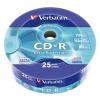 Verbatim CD-R lemez, 700MB, 52x, zsugor csomagolás, VERBATIM  DataLife