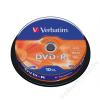 Verbatim DVD-R lemez, AZO, 4,7GB, 16x, hengeren, VERBATIM (DVDV-16B10)