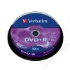 Verbatim DVD+R lemez, AZO, 4,7GB, 16x, hengeren, VERBATIM (DVDV+16B10)