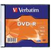 Verbatim DVD-R lemez, AZO, 4,7GB, 16x, vékony tok, VERBATIM