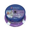 "Verbatim DVD+R lemez, kétrétegű, nyomtatható, no-ID, 8,5GB, 8x, hengeren, VERBATIM ""Double Layer"""