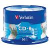 Verbatim ÍRHATÓ CD VERBATIM 700MB NYOMTATHATÓ 50 DB/HENGER