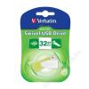 "Verbatim Pendrive, 32GB, USB 2.0, 8/2MB/sec, VERBATIM ""Mini"", lila"
