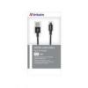 Verbatim USB kábel, USB - micro USB, 1 m, VERBATIM, fekete