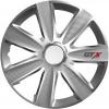 """Versaco 14"""" GTX Carbon Dísztárcsa, Ezüst, 4 db"""