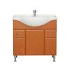Vertex Bianca Plus 85 alsó szekrény mosdóval, aida dió színben