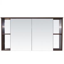 Vertex Capri fürdőszoba bútor felső szekrény 120 cm, Aida dió bútor