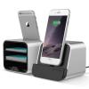 VERUS New i-Depot asztali dokkoló, hálózati töltő iPhone 5, 6, iOS kompatibilis, ezüst