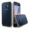 VERUS VRS Design (VERUS) Samsung Galaxy S6 IRON BUMPER hátlap, tok, fekete-titánium szürke