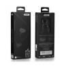 Vezetékes sztereó fülhallgató, 3.5 mm, felvevőgombos, Remax Candy, RM-502, fekete