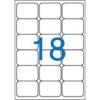 VICTORIA 63,5x46,6 mm univerzális Etikett (100 lap)