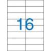 VICTORIA Etikett, univerzális, 105x37 mm, VICTORIA, 1600 etikett/csomag [100 lap]