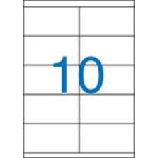 VICTORIA Etikett, univerzális, 105x57 mm, VICTORIA, 1000 etikett/csomag etikett