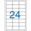 VICTORIA Etikett, univerzális, 64,6x33,8 mm, VICTORIA, 2400 etikett/csomag