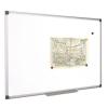 VICTORIA Fehértábla, mágneses, 100x100 cm, alumínium keret, VICTORIA