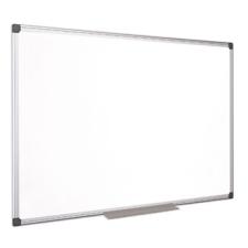 VICTORIA Fehértábla, mágneses, zománcozott, 120x240 cm, alumínium keret, VICTORIA mágnestábla