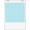 VICTORIA Flipchart papír, négyzethálós, 65x91 cm, 5x20 lap, VICTORIA