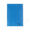 VICTORIA Gumis mappa, karton, A4, VICTORIA, kék (IDPG04)