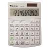 """VICTORIA """"GVA-740"""" 10 számjegyes asztali környezetbarát fehér számológép"""
