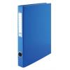 VICTORIA Gyűrűs könyv, 2 gyűrű, 35 mm, A4, PP/karton, , kék