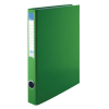 VICTORIA Gyűrűs könyv, 4 gyűrű, 35 mm, A4, PP/karton, , zöld