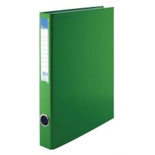 VICTORIA Gyűrűs könyv, 4 gyűrű, 35 mm, A4, PP/karton, , zöld gyűrűskönyv