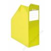 """VICTORIA Iratpapucs, karton, 90 mm, VICTORIA, """"Premium"""", sárga (IDVPFS)"""