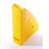 VICTORIA Iratpapucs, műanyag, 75 mm, VICTORIA, sárga