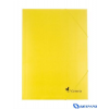 VICTORIA karton gumis mappa sárga