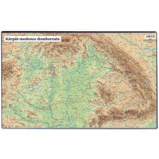 """VICTORIA Könyökalátét, VICTORIA """"A Kárpát-medence domborzata"""" térkép"""
