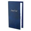 VICTORIA Névjegytartó, 128 db-os, gyűrűs, márvány kék