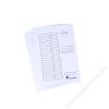 VICTORIA Pólyás dosszié, karton, A4, VICTORIA, fehér (IDPI01)