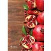 "VICTORIA Spirálfüzet, A4, vonalas, 80 lap,  ""Fruit"""