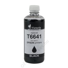 VICTORIA T6641 Tintapatron L100, 200mfp nyomtatókhoz, VICTORIA fekete, 100ml (TJV246) nyomtatópatron & toner