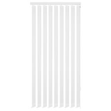 vidaXL 120x180 cm fehér szövetű függőleges ablakredőny redőny