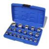 vidaXL 19 darabos spline kulcs készlet tárolóládával