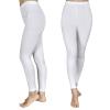vidaXL 2 db női feszes nadrág 110/116 fehér